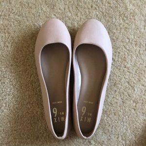 Light Pink/Tan Ballet Flats